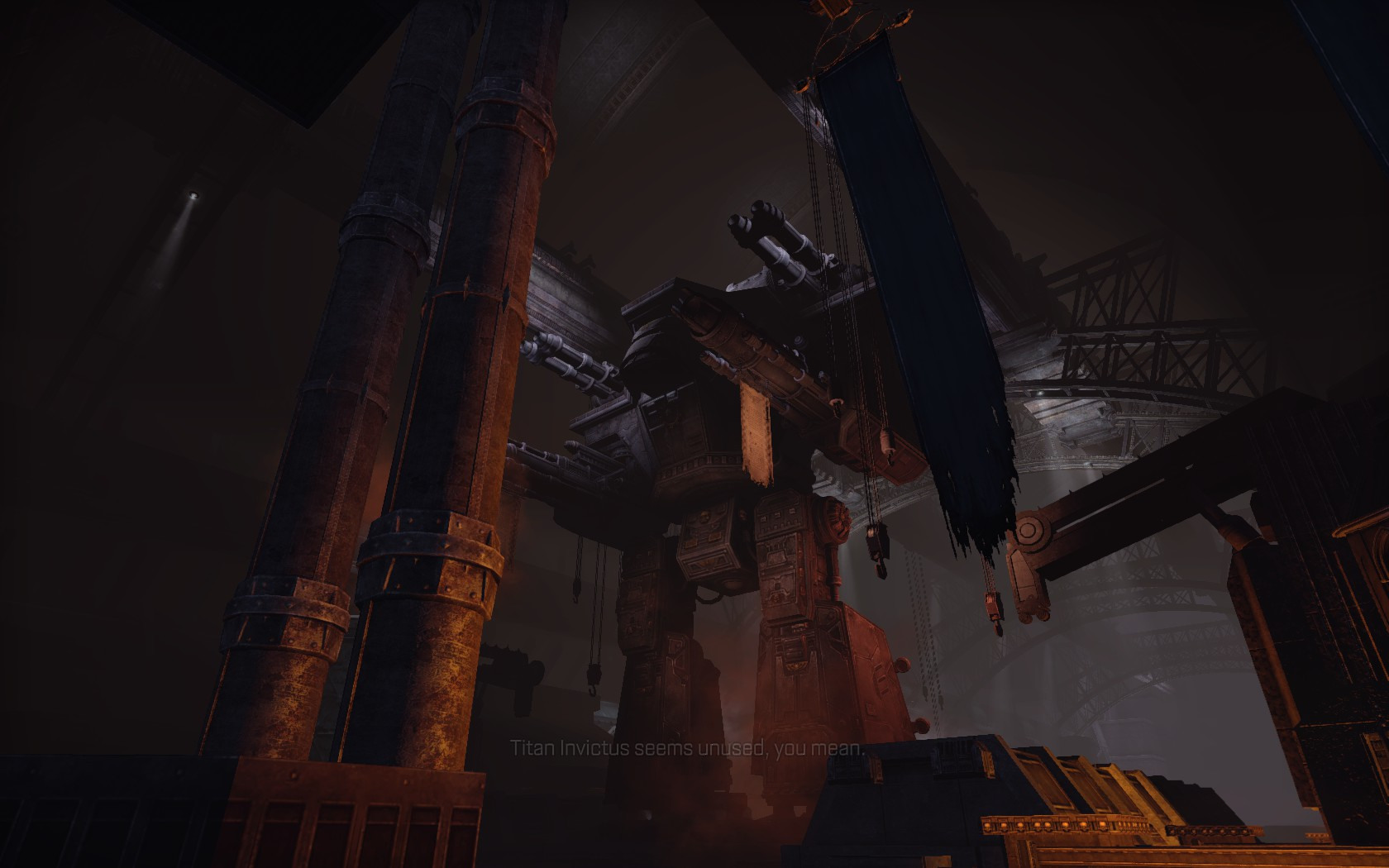 Warhammer 40000 Space Marine Screenshot Wallpaper Titan