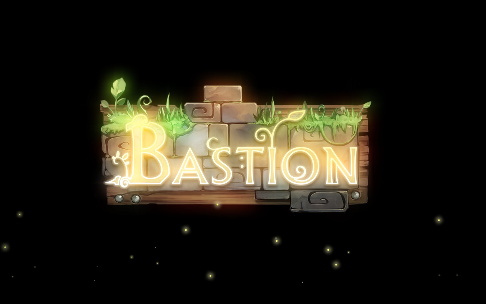 Bastion Screenshot Wallpaper Title Screen