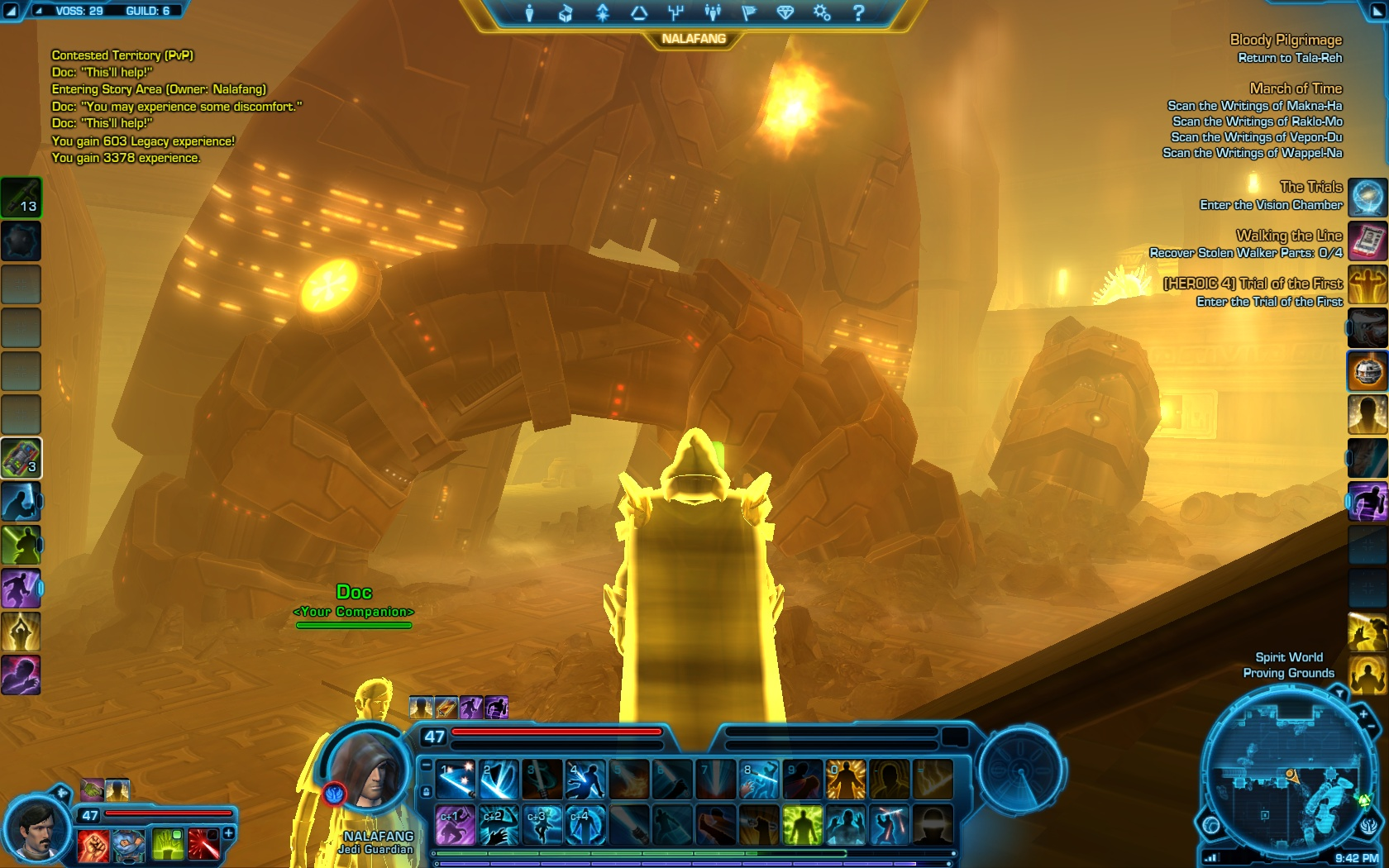 Star Wars The Old Republic Screenshot Wallpaper Voss Mystic Trials