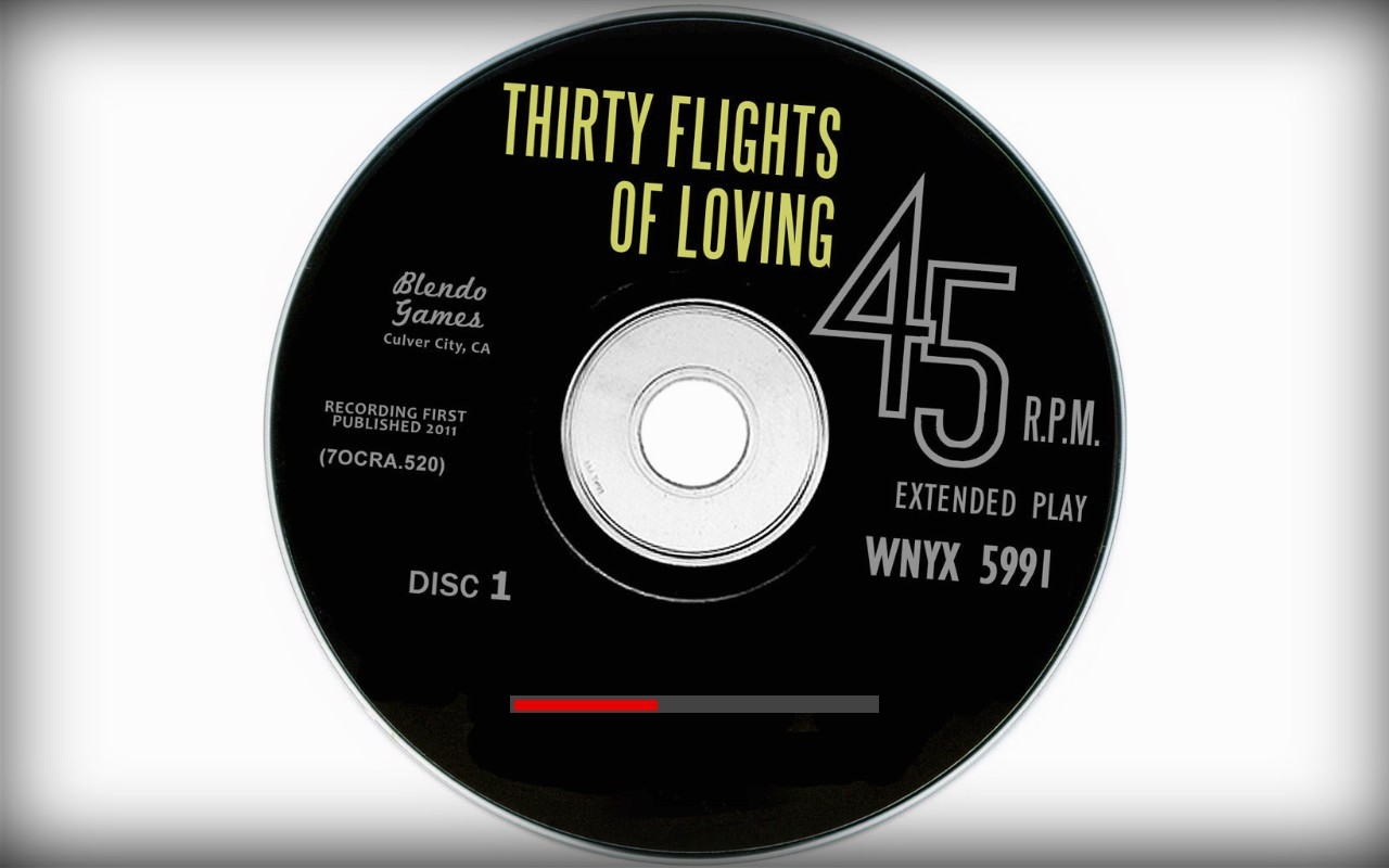 Thirty Flights of Loving Screenshot Wallpaper Title Screen