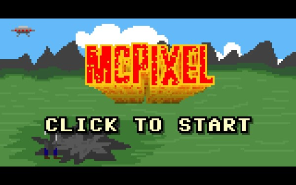 McPixel Screenshot Wallpaper Title Screen600px