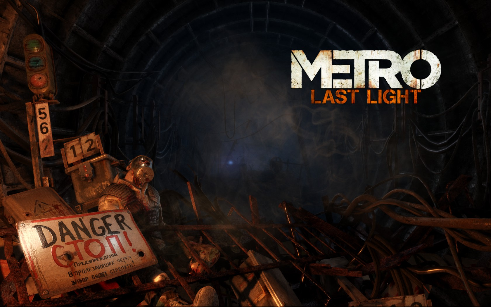 Metro Last Light Screenshot Wallpaper Title Screen