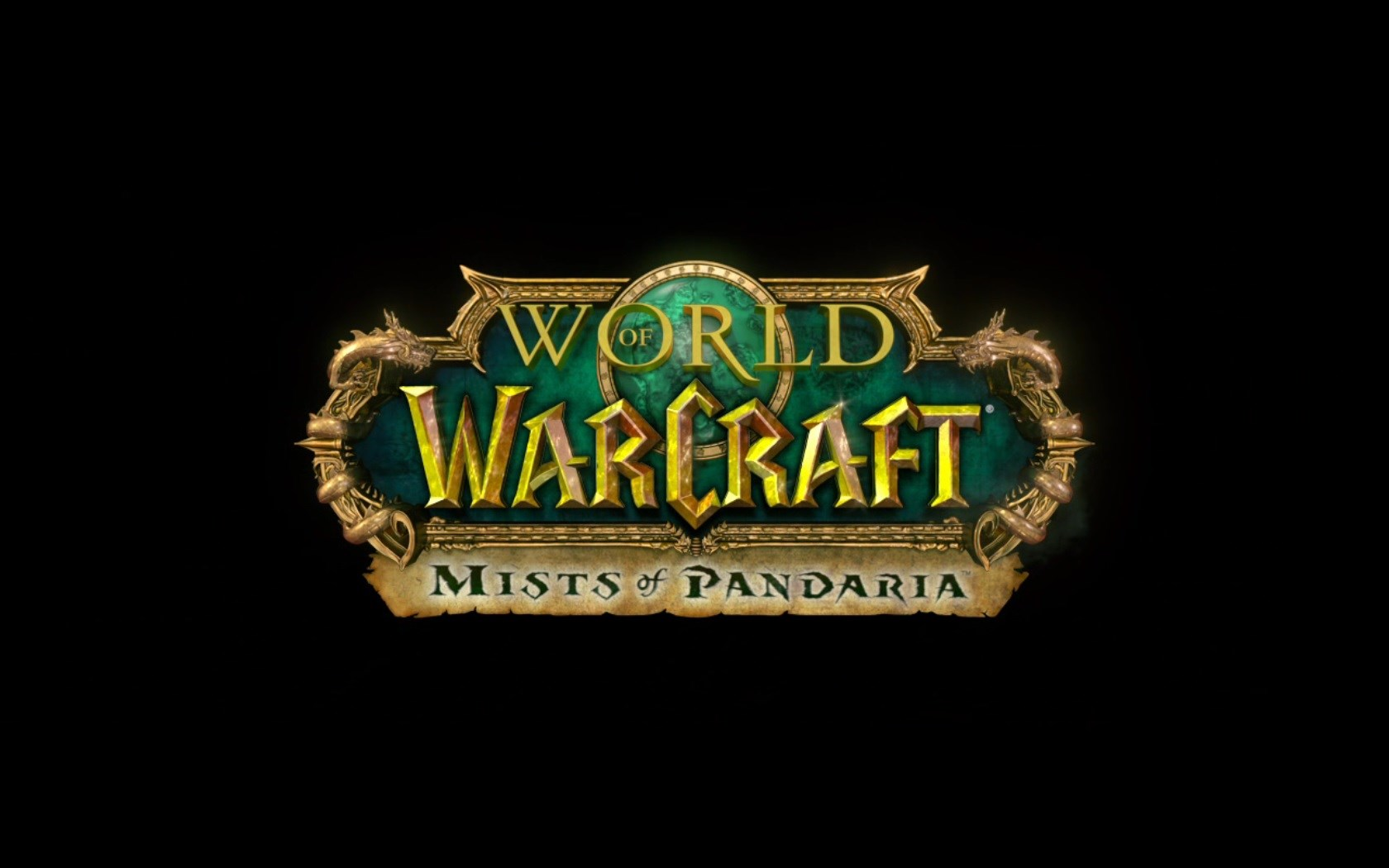 World of Warcraft Mists of Pandaria Screenshot Wallpaper Title Screen