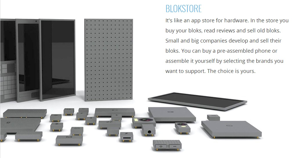 Phonebloks Design Concept