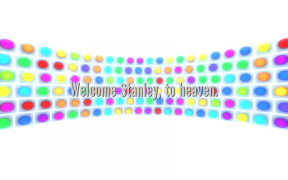 The Stanley Parable Review Screenshot Wallpaper Welcome to Heaven