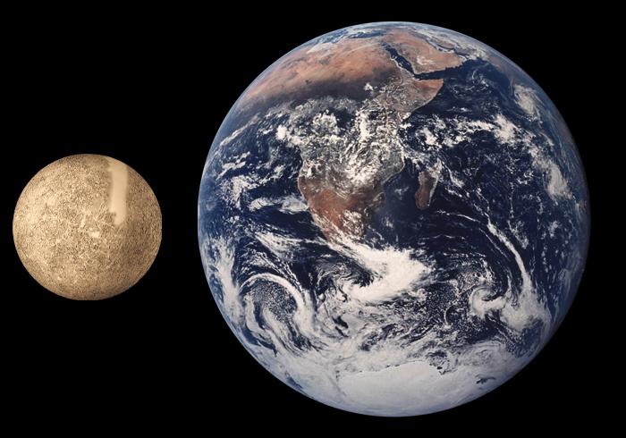 Mercury vs Earth