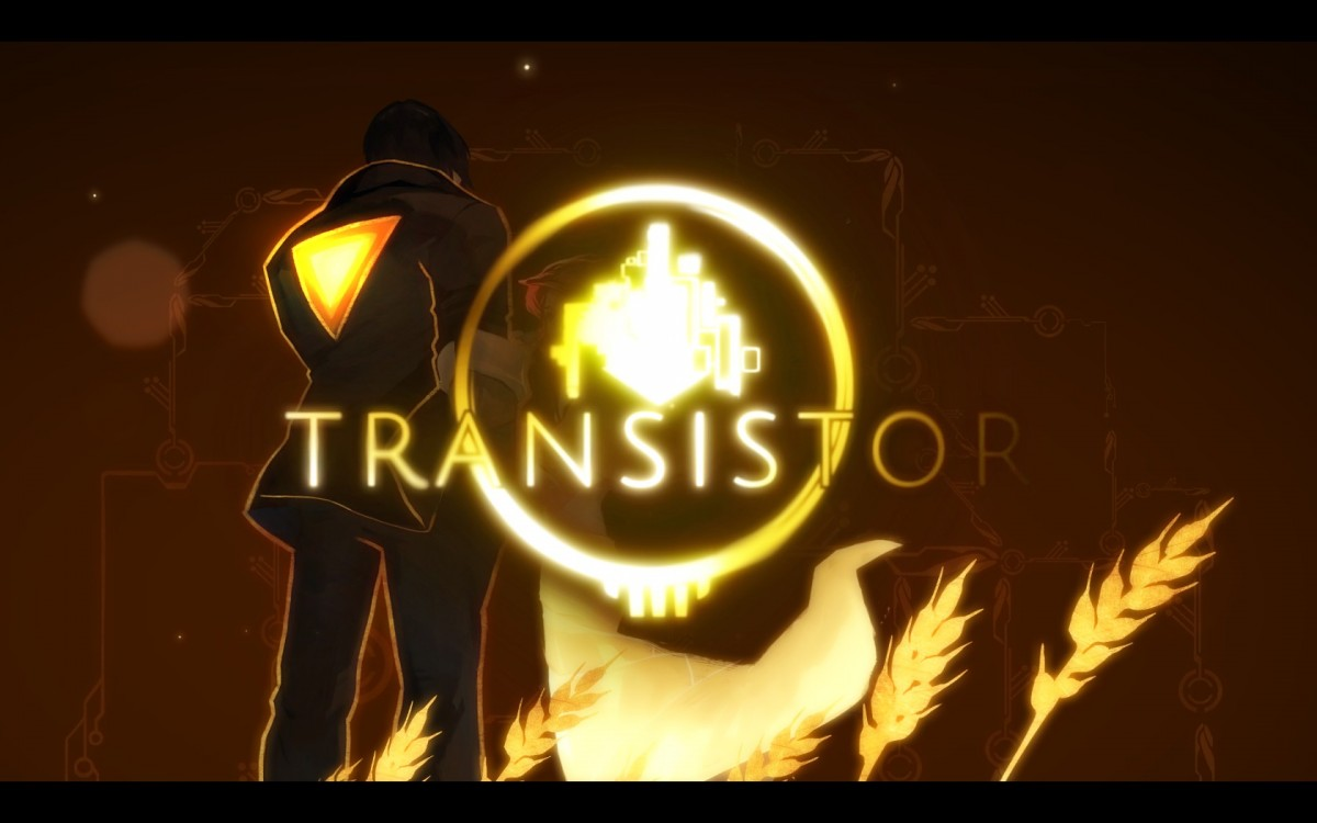 Transistor Review Screenshot Wallpaper Title Screen