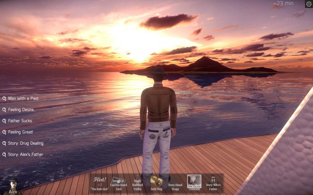 Velvet Sundown Review Screenshot Wallpaper Admiring the Sunset