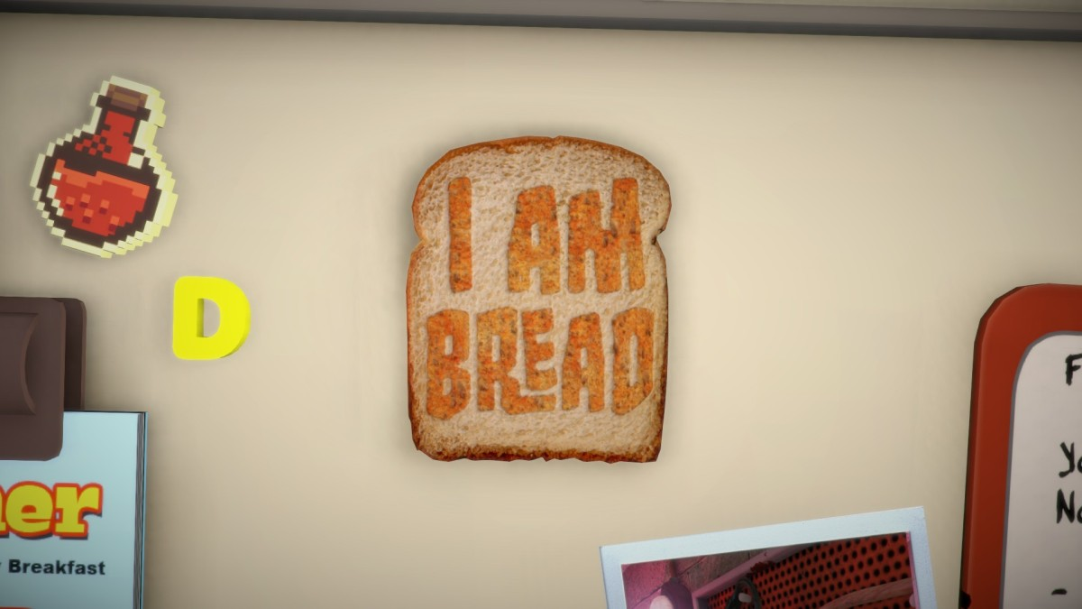 I am Bread Review Screenshot Wallpaper Title Screen