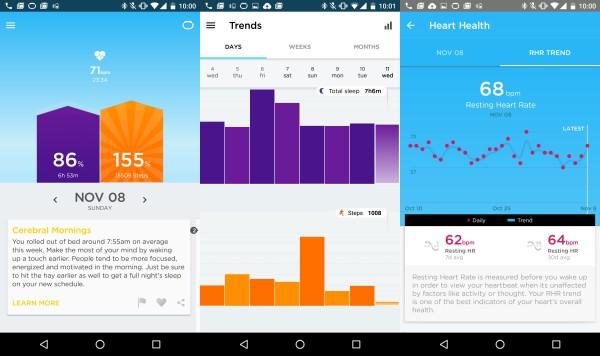 Jawbone Up3 App