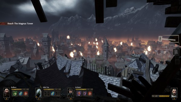 Warhammer Vermintide Review Screenshot Wallpaper A Ruinous View